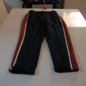 Zara Navy w/stripe joggers